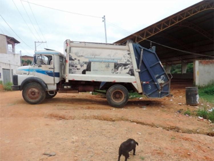 Gari acharam o corpo da criança em uma lata de lixo - Foto: Reprodução | Iguaí Mix