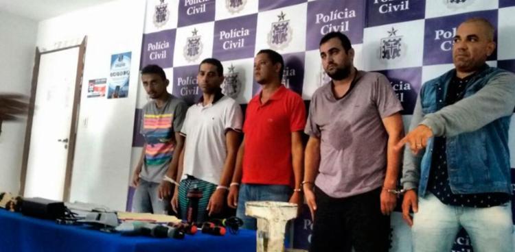 Suspeitos estavam sendo investigados há mais de uma semana - Foto: Divulgação | Polícia Civil