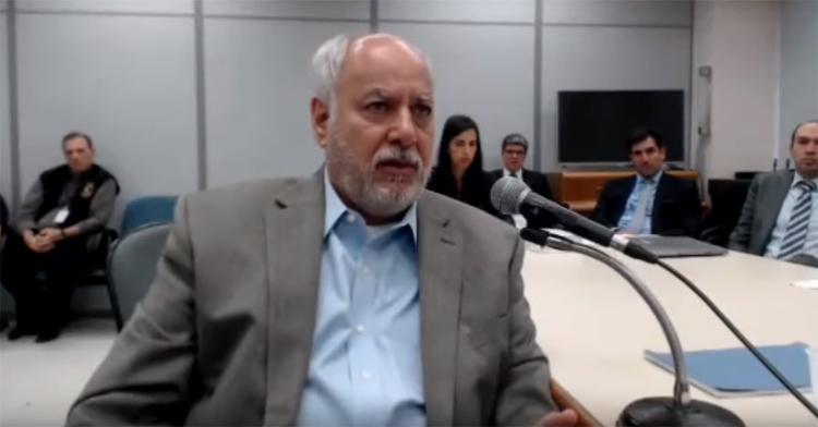Em depoimento a Moro, ex-diretor de Serviços da Petrobrás detalha três encontros com o ex-presidente - Foto: Reprodução l YouTube
