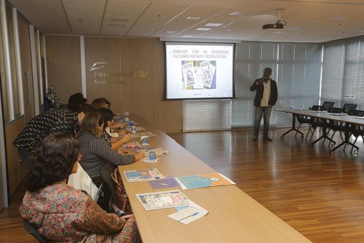 Palestrantes falaram sobre tecnologia no Teatro Sesc - Foto: Xando Pereira | Ag. A TARDE