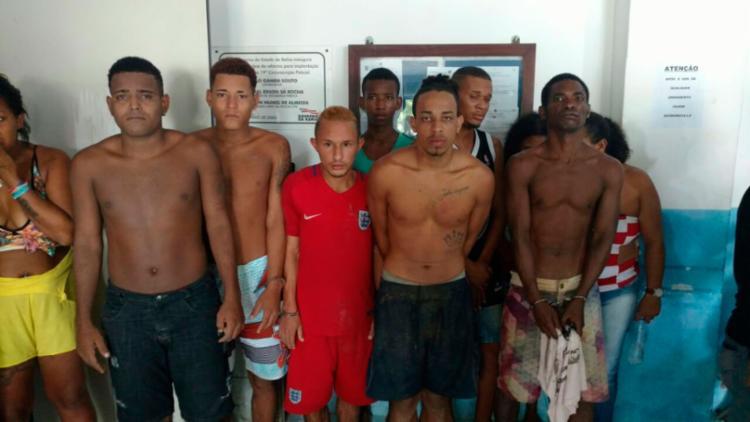 A prisão aconteceu na localidade de Amoeiras - Foto: Divulgação | SSP