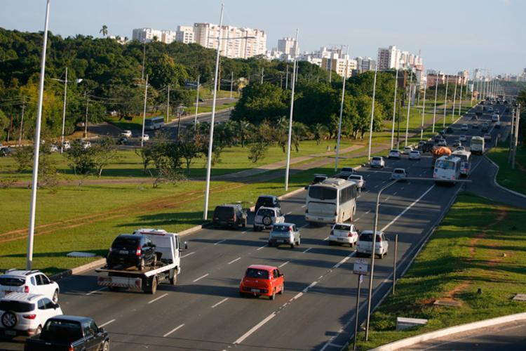 O CAB é cerca de área verde - Foto: Joá Souza | Ag. A TARDE