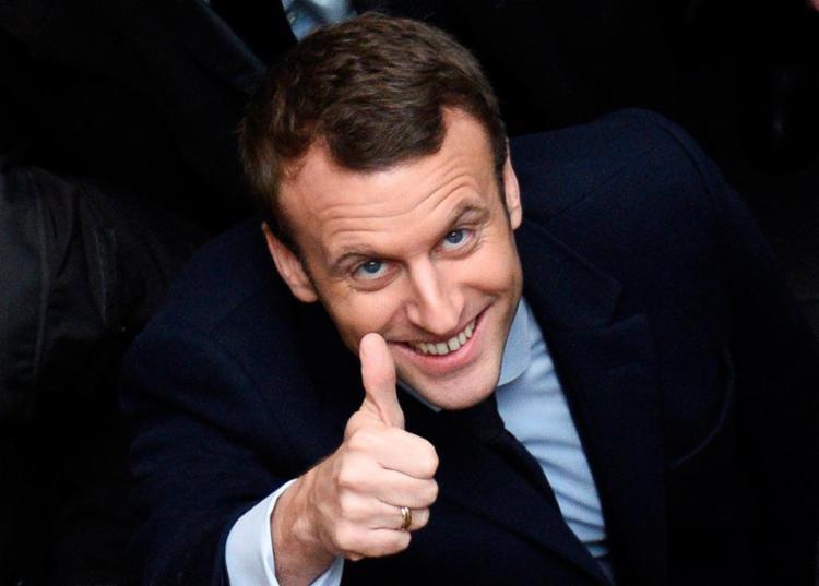 Macron é eleito novo presidente da França - Foto: Danis Charlet | AFP
