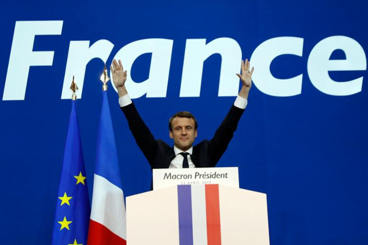 Resultado de imagem para novo presidente frances eleito