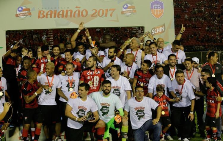 Vitória é o atual campeão baiano - Foto: Margarida Neide | Ag. A TARDE | 07.05.2017