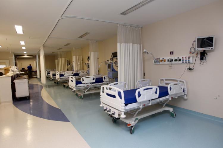 Leitos para atender pacientes em nova unidade - Foto: Camila Souza | Gov-BA | Divulgação