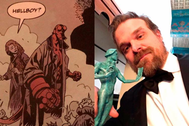 Hellboy será estrelado por David Harbour, ator da série