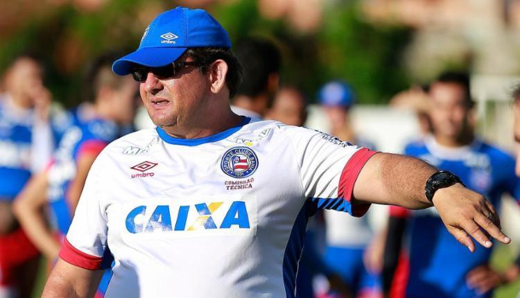 Visando à estreia do Bahia na Série A, técnico Guto Ferreira inicia trabalhos no Fazendão - Foto: Felipe Oliveira l EC Bahia