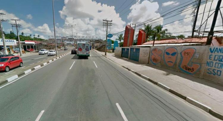 A via será interditada na altura do km 0, das 12h às 18h desta quarta-feira, 21 - Foto: Reprodução | Google Maps