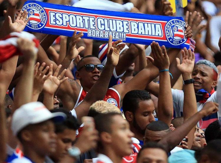 O Bahia contará com o apoio do torcedor para poder sair da zona de rebaixamento - Foto: Reprodução | EC Bahia