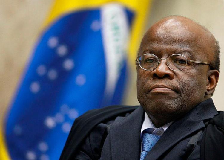 Joaquim Barbosa teve até 10 pontos percentuais em pesquisa de intenção de votos - Foto: Nelson Jr. | SCO | STF | Divulgação