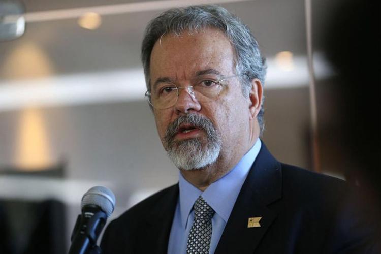 O ministro extraordinário da Segurança Pública afirmou que as munições foram desviadas - Foto: Antônio Cruz l Agência Brasil