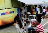 SineBahia oferece serviços gratuitos no bairro do Calabetão | Foto:
