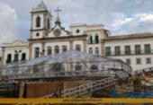Palco que desabou no Terreiro de Jesus é liberado pela prefeitura | Foto: