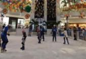 Shopping na Barra instala pista para patinação no gelo | Foto: