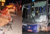 Uma pessoa morre e outra fica ferida em colisão com ônibus e carro na BR-101 | Foto: