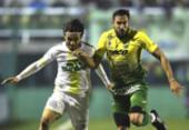 Chapecoense perde na estreia da Sul-Americana com gol aos 49 minutos do 2º tempo | Foto: