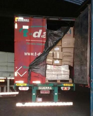Mercadorias transportadas valem R$ 420 mil - Foto: Divulgação l Polícia Civil