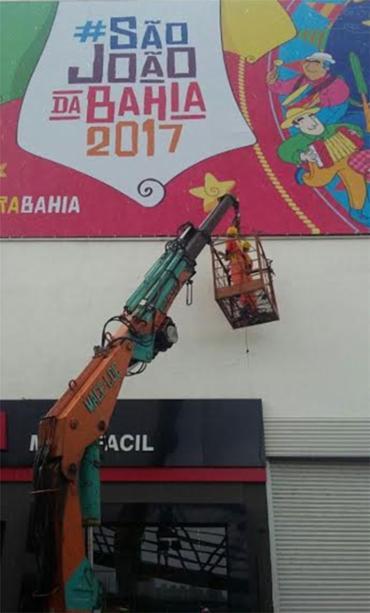 Prefeitura alegou que shopping não tinha licença para exibir publicidade - Foto: Divulgação | Sedur