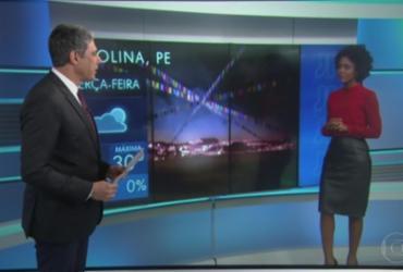 'Causando, arrasando', diz Bonner a Maju por estreia em telejornal