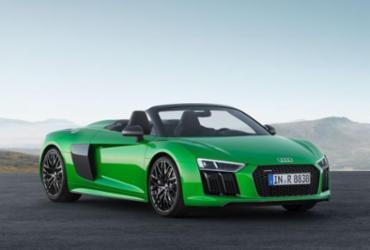 Novo Audi R8 Spyder Plus quer aprimorar perfeição esportiva