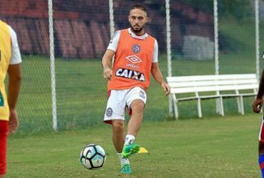 Artilheiro do Bahia, Régis pode voltar contra o Corinthians