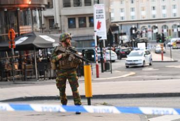 Suspeito é morto após explosão em estação de trens de Bruxelas
