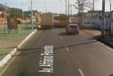 Trabalhadores do transporte complementar protestam na Suburbana