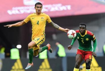 Camarões e Austrália empatam e se complicam na Copa das Confederações