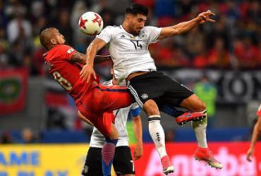 Sánchez bate recorde, mas Chile e Alemanha só empatam em jogo morno na Rússia