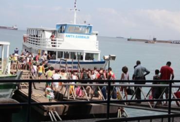 Lanchas da travessia para Mar Grande voltam a operar após suspensão   Joá Souza   Ag. A TARDE   29.12.2013