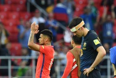 Chile controla Austrália, empata por 1 a 1 e terá Portugal nas semifinais