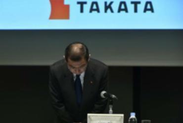 Takata, fabricante de airbags defeituosos, declara falência