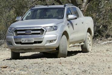 Nova Ford Ranger Limited passa no teste de estrada