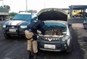 Carro roubado em Salvador é recuperado na Chapada Diamantina