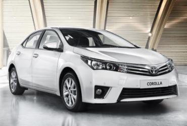 Toyota convoca recall do Corolla