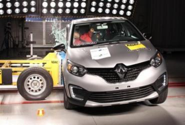 Captur é aprovado em crash test: Latin NCAP e Proteste elogiam