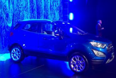 Ford apresenta novo EcoSport, mas vendas começam só em agosto