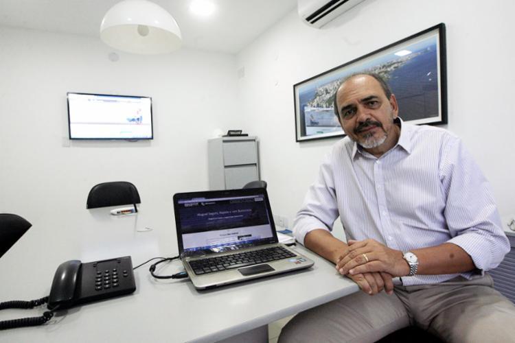Bittencourt, da Bittencourt Lopes, diz que a tecnologia deixa o processo menos burocrático - Foto: Mila Cordeiro | Ag. A TARDE | 06.06.2017