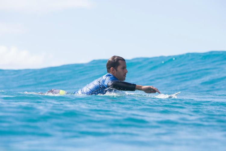 Bino será o nono integrante da 'Braziliam Storm' na etapa das ilhas Fiji - Foto: Tony Helf | WSL
