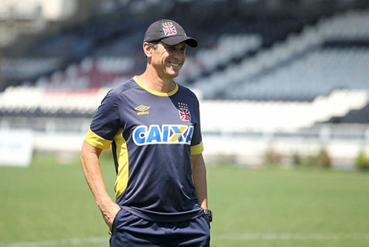 O Vasco foi o último time comandado por Jorginho - Foto: Paulo Fernandes | Vasco.com.br | Divulgação