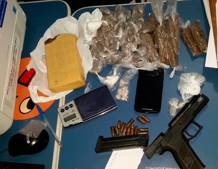 Material foi encaminhado para exames periciais no DPT - Foto: Divulgação | SSP
