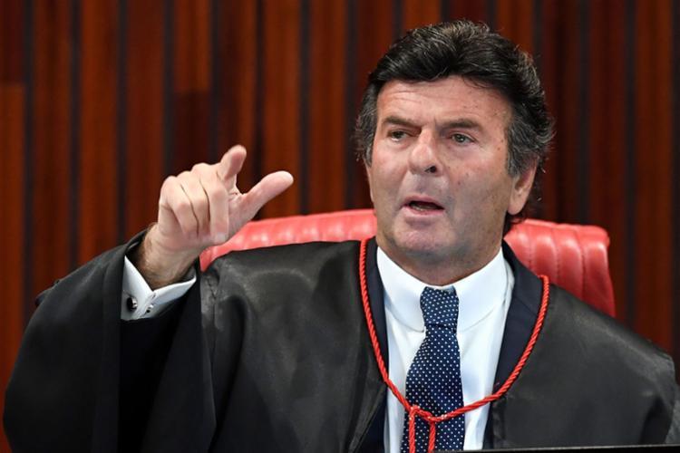 Fux foi um dos três votos pela cassação de Temer - Foto: Evaristo Sá   AFP