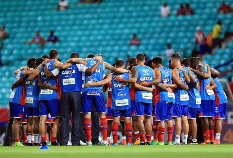 Marcas da equipe em aproveitamento e gols são históricas - Foto: Felipe Oliveira l EC Bahia