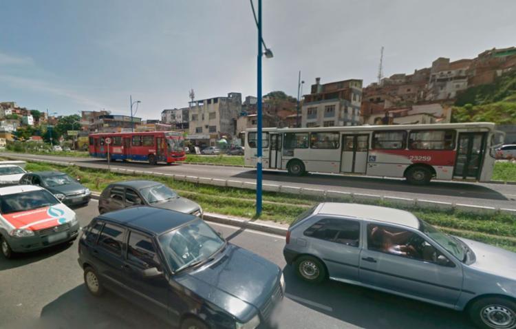 Acidente aconteceu por volta das 14h20 desta terça-feira - Foto: Reprodução | GoogleMaps