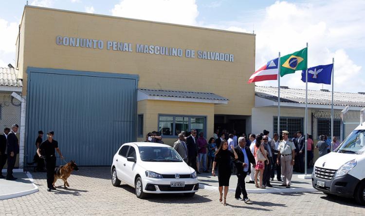 O Conjunto Penal de Salvador, na Mata Escura, terá capacidade para abrigar 683 detentos do sexo masculino - Foto: Luciano da Matta l Ag. A TARDE