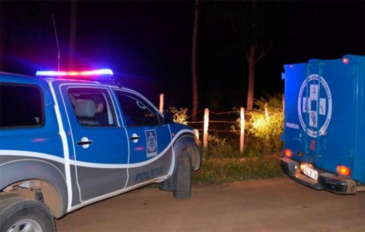 O filho da vítima foi socorrido para o Hospital de Base de Conquista - Foto: Reprodução | Blog do Léo Santos