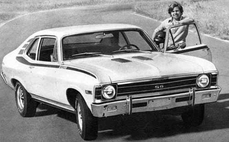 O Chevy era a terceira geração do Chevrolet Nova dos EUA nos anos 1960 - Foto: Divulgação