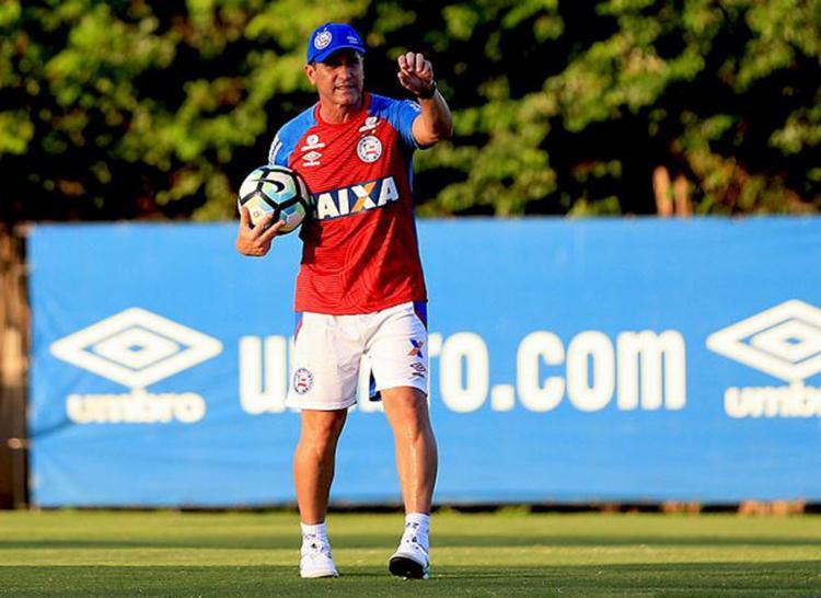 Jorginho busca levar o Tricolor aos primeiros pontos longe dos seus domínios - Foto: Felipe Oliveira l EC Bahia