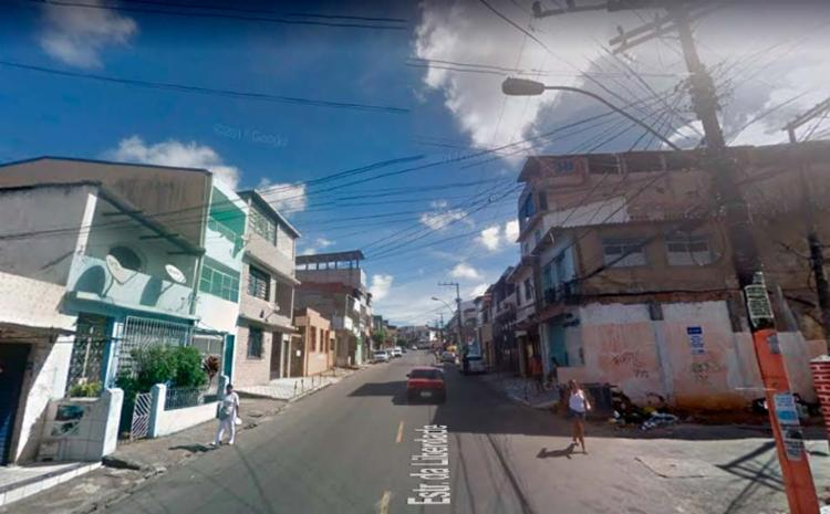 Crime aconteceu na rua Lima e Silva, próximo ao Largo do Tanque - Foto: Reprodução | Google Maps